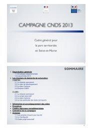 Diaporama de présentation aux clubs et comités - CDOS 77