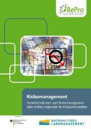 Fachinformation Risikomanagement - RePro - Ressourcen vom Land