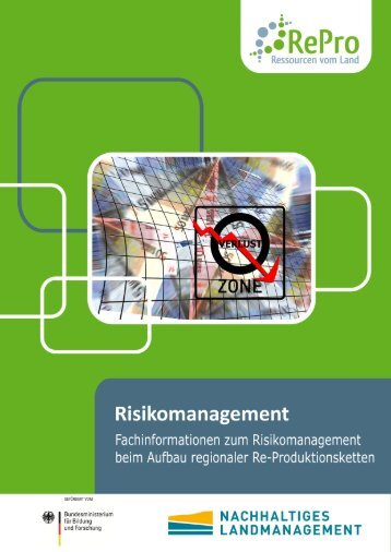 Fachinformation Risikomanagement - RePro - Ressourcen vom Land