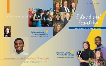 scholarships and information - Delaware County Community College