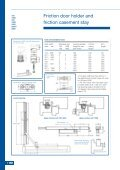 Friction door holder and friction casement stay - BJ Waller Limited - Page 2