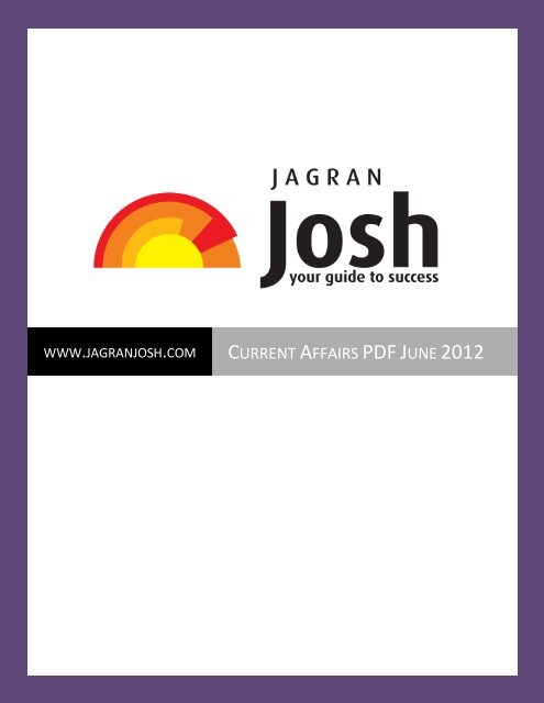 Jagran Josh Magazine In Hindi Pdf