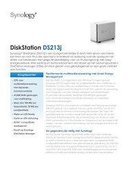 DiskStation DS213j - Synology