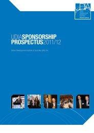 udiasponsorship prospectus2011/12 - Urban Development Institute ...