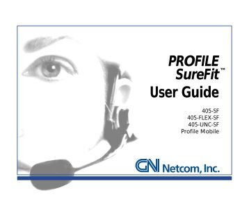GN Netcom Profile SureFit - Product Reviews - corded headsets