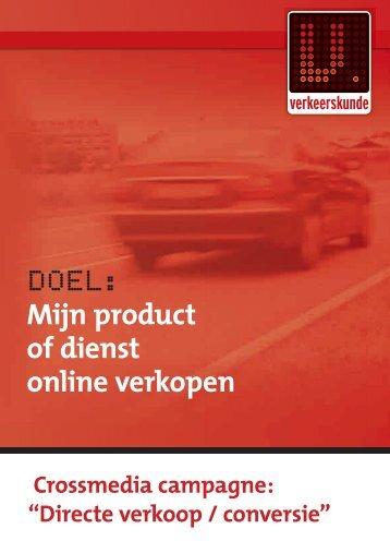 Mijn product of dienst online verkopen - Verkeerskunde