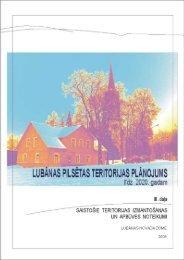 III.daļa. Saistošie teritorijas izmantošanas un apbūves noteikumi