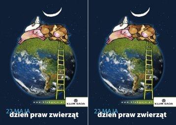 dzień praw zwierząt dzień praw zwierząt - Klub Gaja