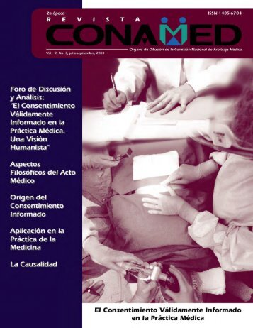Revista CONAMED, Vol. 9, Núm. 3, julio - septiembre, 2004
