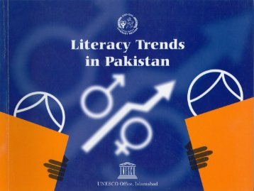 Literacy Trends in Pakistan - UNESCO Islamabad