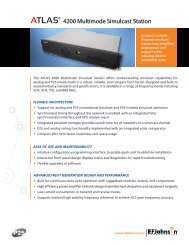 Download the ATLAS 4200 Multimode Simulcast ... - EFJohnson