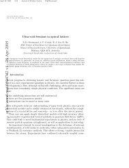 arXiv:cond-mat/0504742 v1 28 Apr 2005 - Physics - University of ...