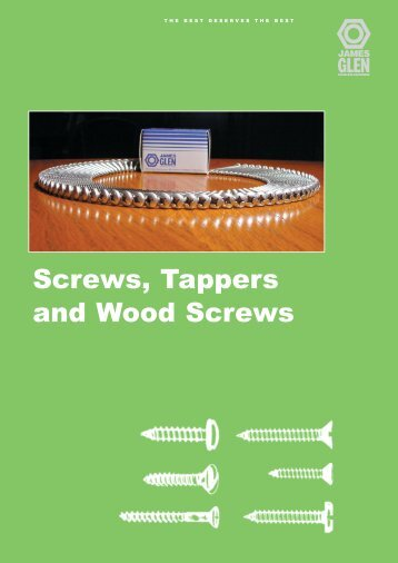 Screws, Tappers and Wood Screws - RGA and PSM Fasteners
