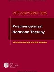Postmenopausal Hormone Therapy - AMMOM