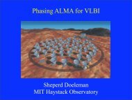 Enabling mm and submm VLBI with ALMA - Mpifr-bonn.mpg.de