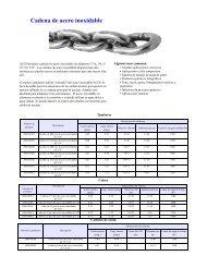 Cadena de acero inoxidable - ALP Industries Inc.