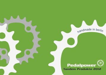 Pedalpower - Sector 2 Bikes and Tandems