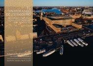 El mEmorando dE Estocolmo - Nobel Laureate Symposium on ...