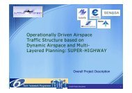 Operationally Driven Airspace Traffic Structure based on Dynamic ...