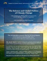 """The Science and Global Politics of Climate Change"" is a 30 ... - cfact"