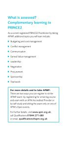 shortened route to APMP - Association for Project Management - Page 5
