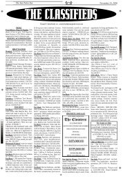 Classified Ads - The San Pedro Sun