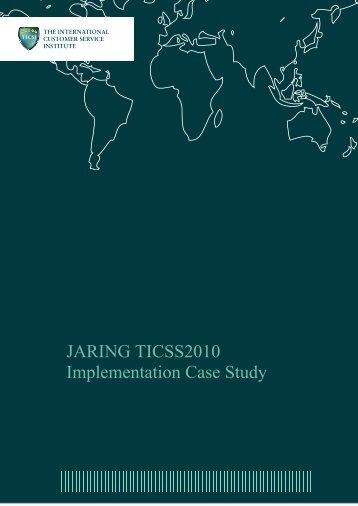 JARING TICSS2010 Implementation Case Study - BSI