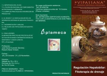 Regulación Hepatobilar: Fitoterapia de drenaje - Vipassana