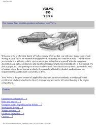 1994 Volvo 850 - Volvotips