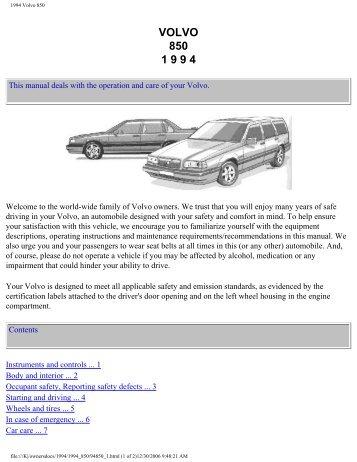 volvo 850 1996 wiring diagrams. Black Bedroom Furniture Sets. Home Design Ideas