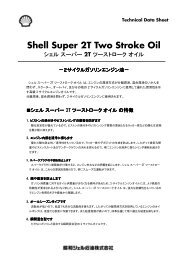 Shell Super 2T Two Stroke Oil
