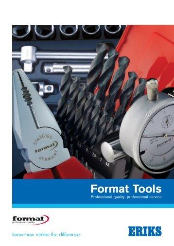 Format Tools - Eriks UK