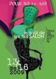 salon livre gdl.pdf - Agence Régionale du Livre PACA