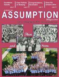 Summer 2011 - Assumption High School