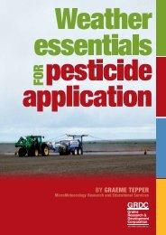 By Graeme Tepper - Grains Research & Development Corporation