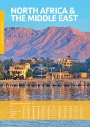 norTHErn AFrICA & THE mIddlE EAsT - STA Travel Hub