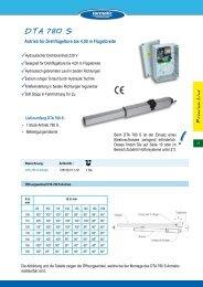 DTA 780 S - tormatic