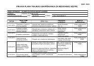 Kalendar stručnog usavršavanja 2013. - Klinika za dječje bolesti ...