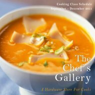 The Chef's Gallery