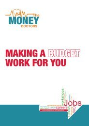 Making a budget work for you booklet - Roehampton