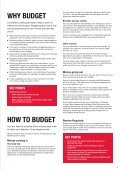 Making a budget work for you booklet - Roehampton - Page 3
