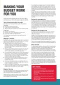Making a budget work for you booklet - Roehampton - Page 5