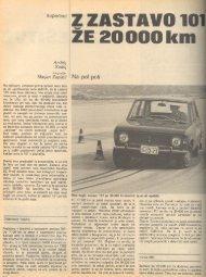 Prenesi PDF testa Zastava Zastava 101 - Avto Magazin