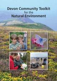 Community Toolkit for the Natural Environment - Devon County ...
