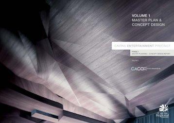 VOLUME 1 MASTER PLAN & CONCEPT DESIGN - Cairns Regional ...