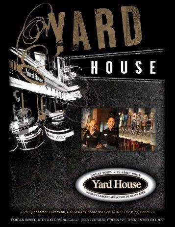 3775 Tyler Street, Riverside, CA 92503 • Phone: 951.688.YARD ...