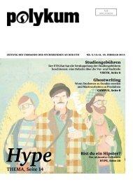 Hype THEMA, Seite 14 - VSETH - ETH Zürich