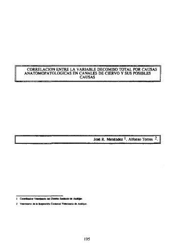 """(1996): """"Correlación entre la variable decomiso total por causas ..."""