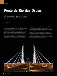 Ponte de Rio das Ostras - Lume Arquitetura