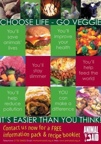 Go Veggie A5 Leaflet v5 - Animal Aid